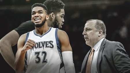Tom Thibodeau Karl-Anthony Towns