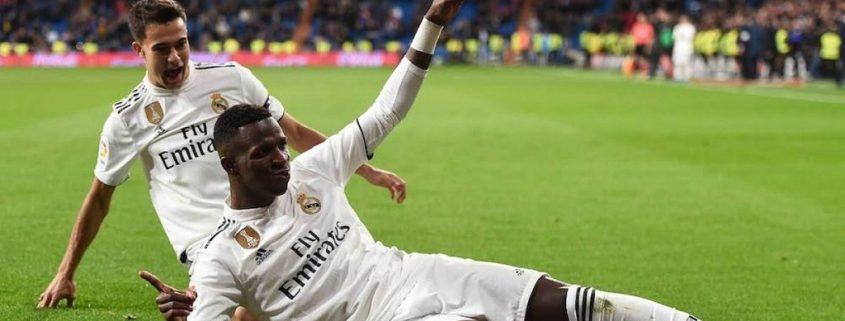 Vinicius Real Madrid 2018-19