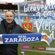 Víctor Fernández, esperanza para despertar al Real Zaragoza del letargo