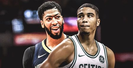 Anthony Davis - Jayson Tatum - Boston Celtics