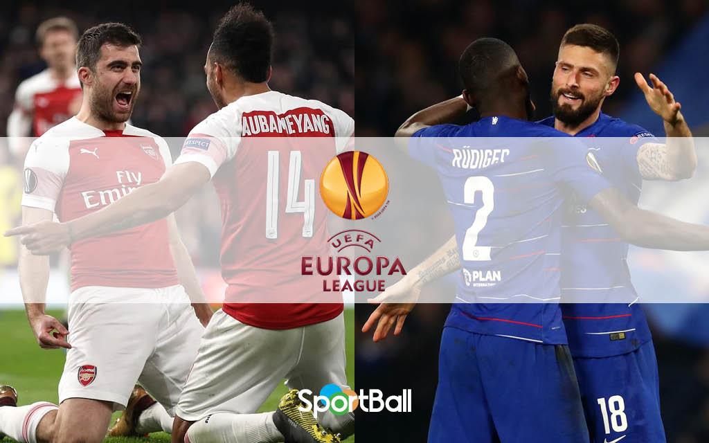 Arsenal y Chelsea en la Europe League 2018-19
