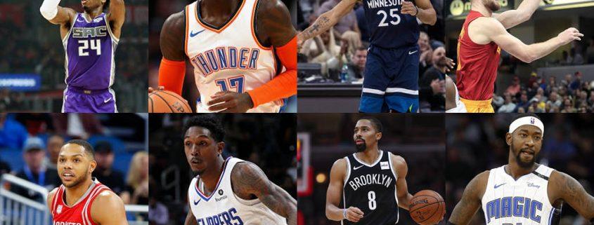 Candidatos y favoritos a mejor sexto hombre del año de la NBA 2019