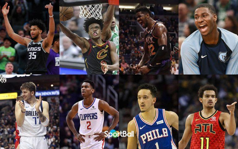 Candidatos y favoritos a rookie del año de la NBA 2019