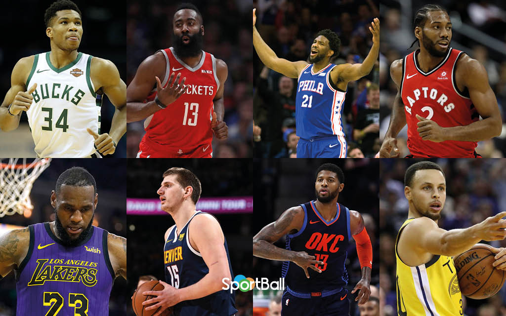 Candidatos y favoritos al MVP de la NBA 2019