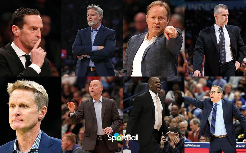 Candidatos y favoritos mejor entrenador del año de la NBA 2019