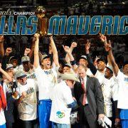 Dallas Mavericks 2011: un campeón de anillo de la NBA muy especial