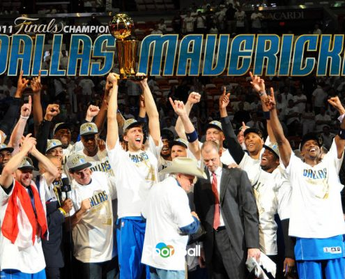 Dallas Mavericks anillo campeón NBA 2011