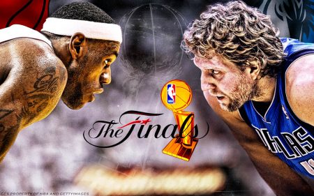 Dallas Mavericks vs Miami Heat - LeBron James vs Dirk Nowitzki - 2011