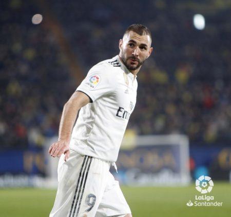 Estadísticas de Benzema Real Madrid 2018-19