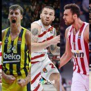 Principales candidatos al MVP de la Euroliga 2018-19