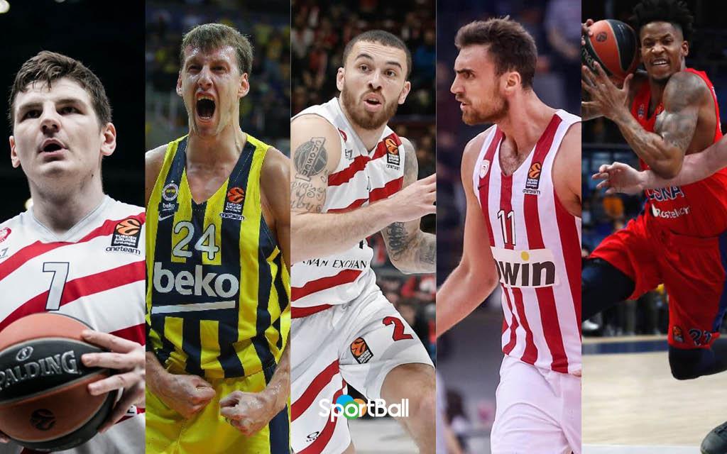 Favoritos al MVP de la Euroliga 2018-19