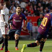 Gol de Messi contra el Sevilla