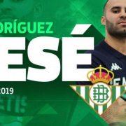 Jesé Rodríguez y su nueva aventura en el Real Betis Balompié