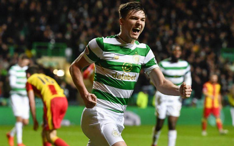 Kieran Tierney Celtic Glasgow 2018-19 - Cómo juega