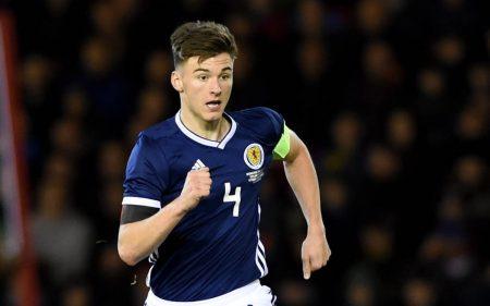 Kieran Tierney Escocia - Selección Escocesa