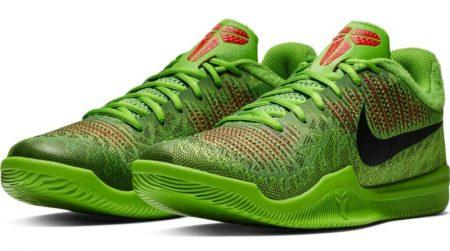 Zapatillas de baloncesto. Nike Mamba Rage Grinch