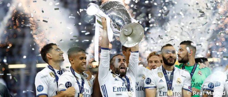 Dani Carvajal Champions Real Madrid