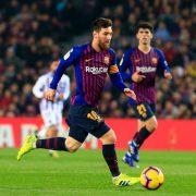 El máximo goleador histórico de LaLiga es Messi (desde 2014)