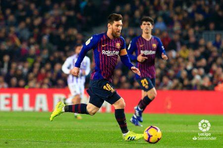 El Barcelona de Valverde es demasiado dependiente de Messi.