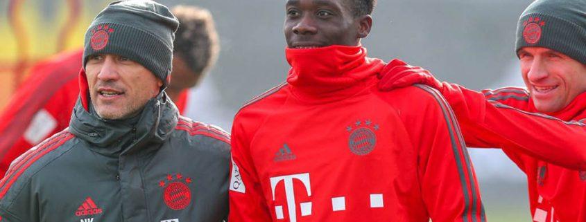 Alphonso Davies Bayern Munich 2018-19