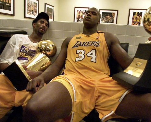 Anillo Lakers 1999-2000 con Kobe Bryant y Saquille O'Neal