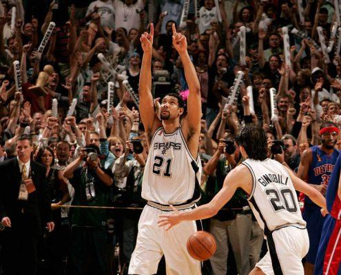Anillo San Antonio Spurs 2004-2005