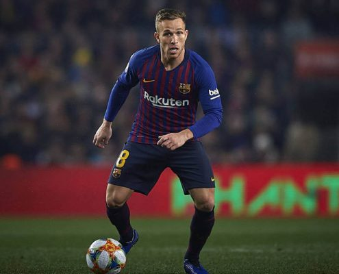 Arthur Melo Barcelona 2018-19