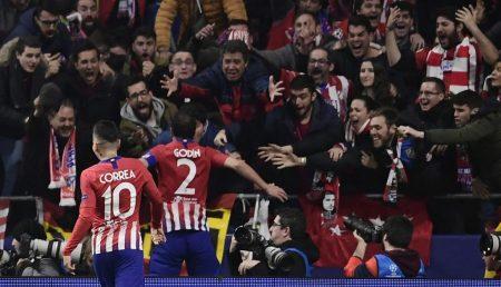 Atlético de Madrid 2 Juventus 0