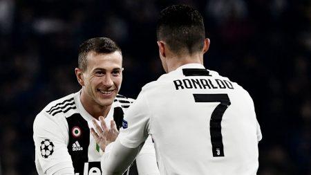 Bernardeschi y Cristiano Ronaldo vs Atlético de Madrid