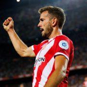 Cristhian Stuani, máximo goleador de la historia del Girona