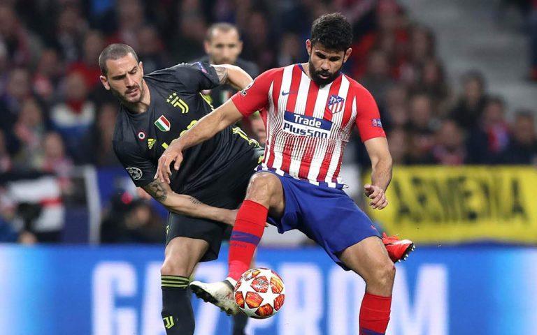 Diego Costa vs Bonucci - Atlético vs Juventus