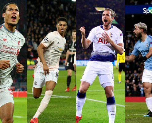 Equipos ingleses en la Champions League 2018-19