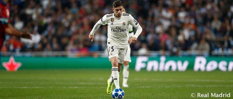 Fede Valverde Real Madrid 2018-19