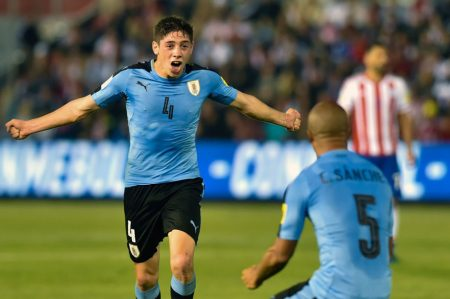 Fede Valverde Uruguay vs Paraguay