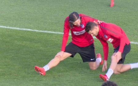 Filipe Luis y Lucas Hernandez en el Atlético de Madrid