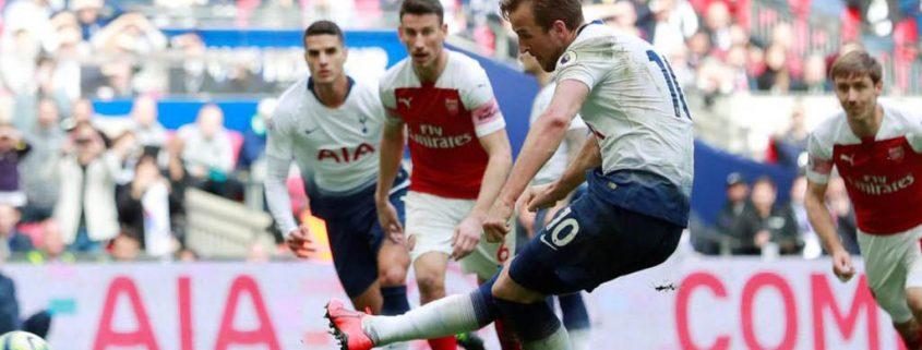 Harry Kane - Gol contra Arsenal