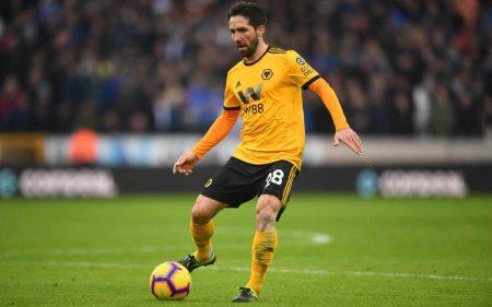 Joao Moutinho Wolverhampton Wanderers 2018-19