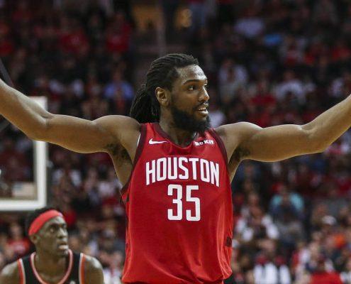 Kenneth Faried Houston Rockets 2018-19