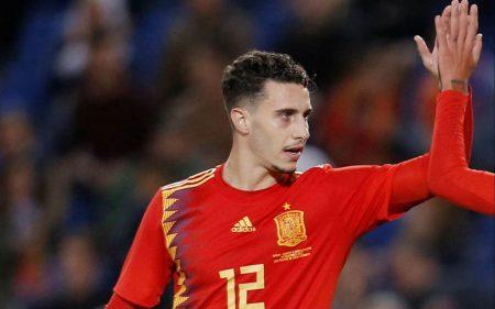 Mario Hermoso Selección Española