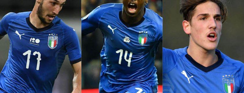 Mejores jugadores jóvenes de la Selección Italiana