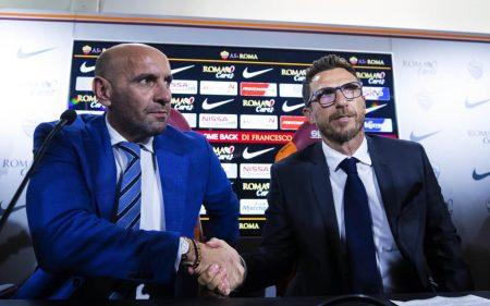 Monchi y Di Francesco, ambos destituidos en la Roma