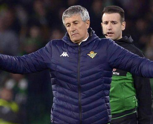 Quique Setién Real Betis 2018-19
