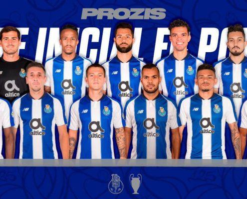 Alineación y plantilla Porto 2018-19