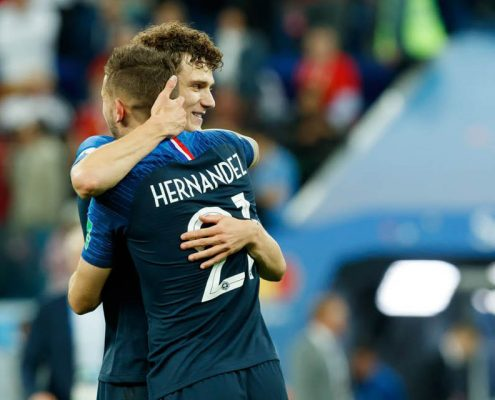 Benjamin Pavard y Lucas Hernández - Bayern Munich