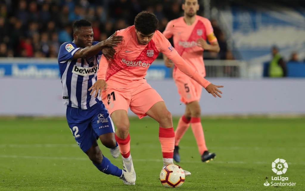 Cómo juega Carles Aleñá