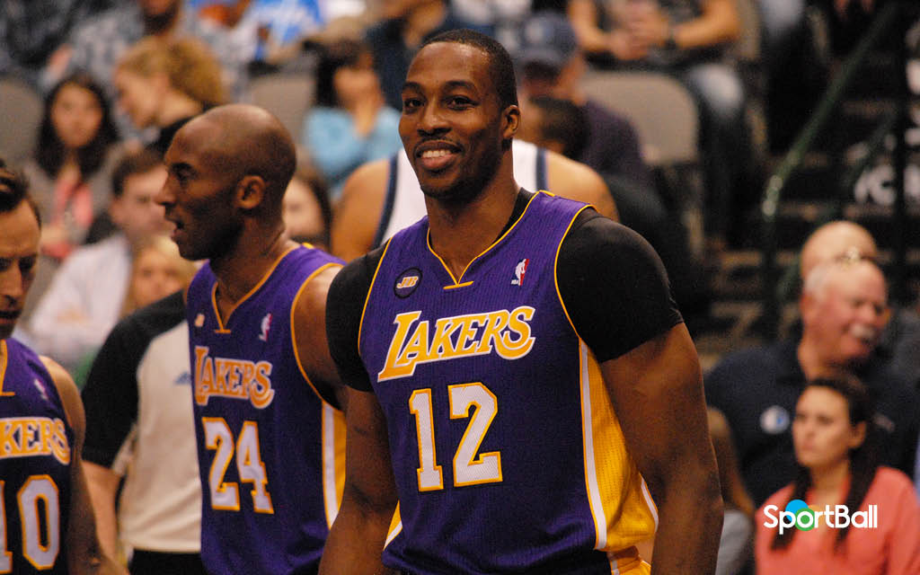 Dwight Howard - Kobe Bryant - Los Angeles Lakers