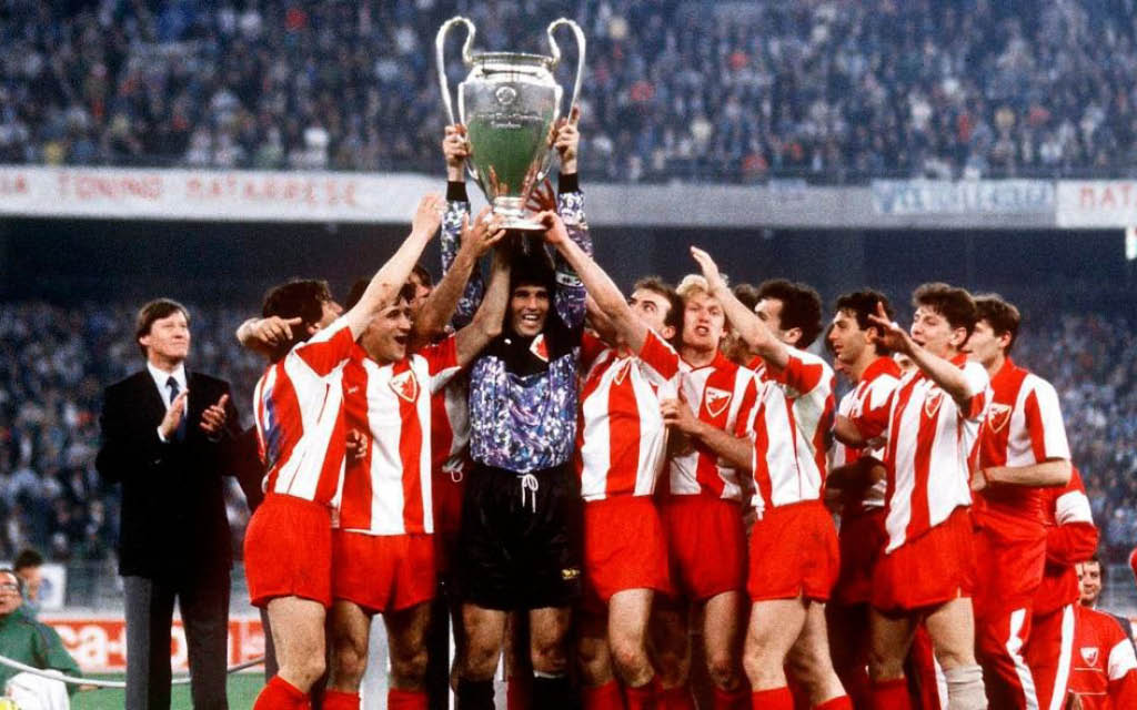 El Estrella Roja de 1991, último triunfo europeo de Yugoslavia