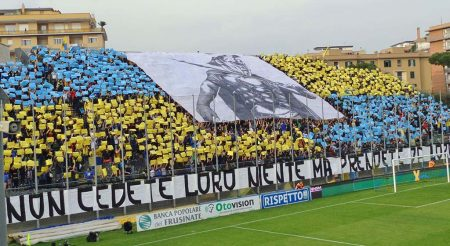 Apodos del Frosinone Calcio Canarini