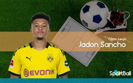 Jadon Sancho - Cómo juega, equipos y estadísticas
