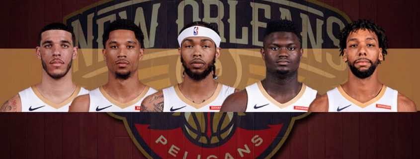 Ball, Hart, Ingram, Zion y Okafor forman la young-core de los Pelicans.
